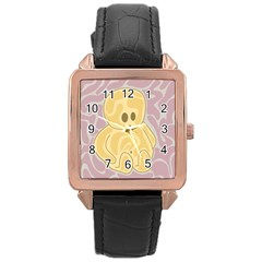 Cute thing Rose Gold Leather Watch