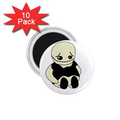 Halloween sad monster 1.75  Magnets (10 pack)