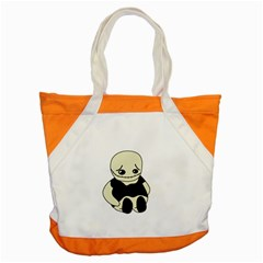 Halloween sad monster Accent Tote Bag
