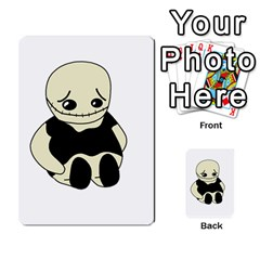 Halloween sad monster Multi-purpose Cards (Rectangle)