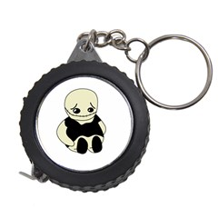 Halloween sad monster Measuring Tapes