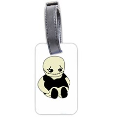 Halloween Sad Monster Luggage Tags (one Side)