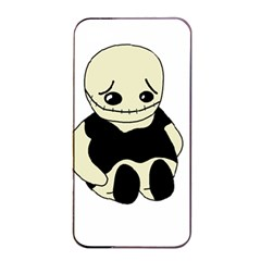 Halloween sad monster Apple iPhone 4/4s Seamless Case (Black)
