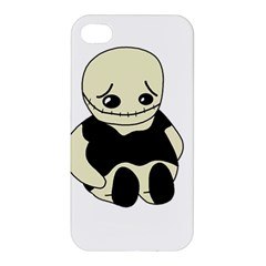 Halloween sad monster Apple iPhone 4/4S Hardshell Case