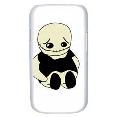 Halloween sad monster Samsung Galaxy S III Case (White)