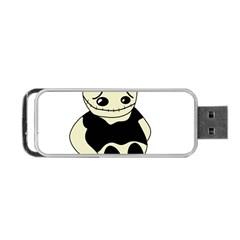Halloween sad monster Portable USB Flash (One Side)