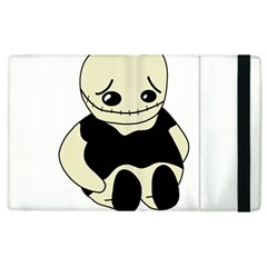 Halloween sad monster Apple iPad 3/4 Flip Case