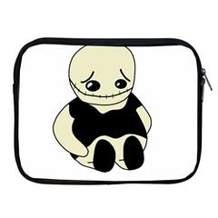 Halloween sad monster Apple iPad 2/3/4 Zipper Cases