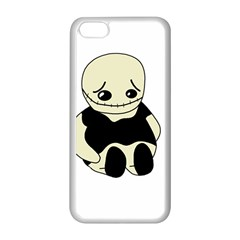 Halloween sad monster Apple iPhone 5C Seamless Case (White)