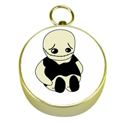 Halloween sad monster Gold Compasses