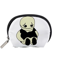 Halloween sad monster Accessory Pouches (Small)