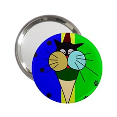 Ice cream cat 2.25  Handbag Mirrors