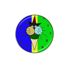 Ice cream cat Hat Clip Ball Marker (4 pack)