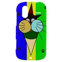Ice cream cat HTC Amaze 4G Hardshell Case