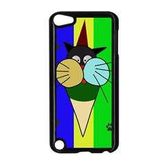 Ice cream cat Apple iPod Touch 5 Case (Black)
