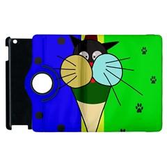 Ice cream cat Apple iPad 2 Flip 360 Case