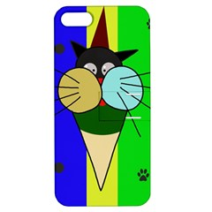 Ice cream cat Apple iPhone 5 Hardshell Case with Stand