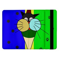 Ice cream cat Samsung Galaxy Tab Pro 12.2  Flip Case