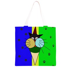Ice cream cat Grocery Light Tote Bag