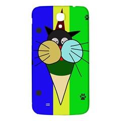 Ice cream cat Samsung Galaxy Mega I9200 Hardshell Back Case