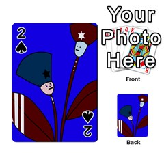 Soldier flowers  Playing Cards 54 Designs