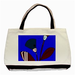Soldier flowers  Basic Tote Bag