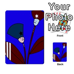 Soldier flowers  Multi-purpose Cards (Rectangle)