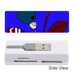 Soldier flowers  Memory Card Reader (Stick)