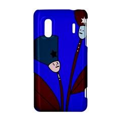 Soldier flowers  HTC Evo Design 4G/ Hero S Hardshell Case