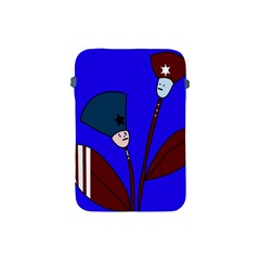 Soldier flowers  Apple iPad Mini Protective Soft Cases