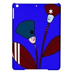 Soldier flowers  iPad Air Hardshell Cases