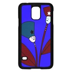 Soldier flowers  Samsung Galaxy S5 Case (Black)