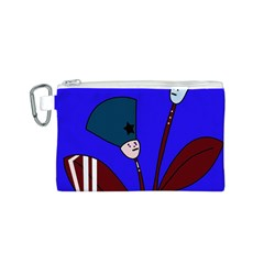 Soldier flowers  Canvas Cosmetic Bag (S)