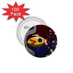 Fish 1.75  Buttons (100 pack)