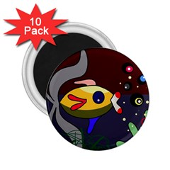 Fish 2.25  Magnets (10 pack)