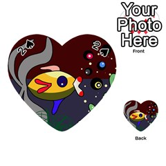 Fish Playing Cards 54 (Heart)