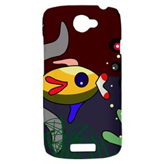 Fish HTC One S Hardshell Case