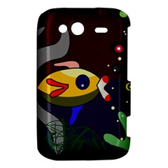 Fish HTC Wildfire S A510e Hardshell Case