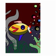 Fish Small Garden Flag (Two Sides)