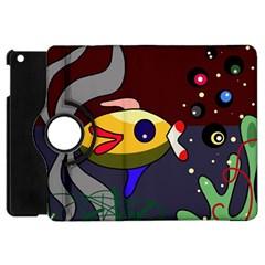 Fish Apple iPad Mini Flip 360 Case