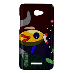 Fish HTC Butterfly X920E Hardshell Case