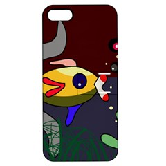 Fish Apple iPhone 5 Hardshell Case with Stand