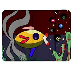 Fish Samsung Galaxy Tab 7  P1000 Flip Case