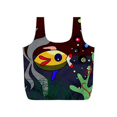 Fish Full Print Recycle Bags (S)