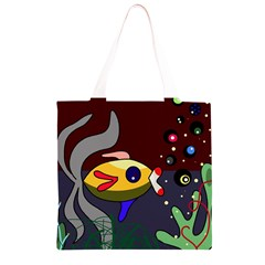 Fish Grocery Light Tote Bag
