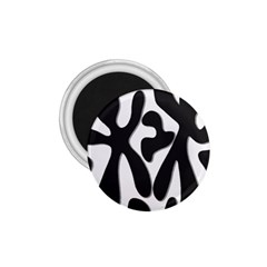 Black and white dance 1.75  Magnets