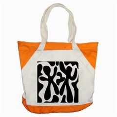 Black and white dance Accent Tote Bag