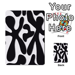 Black and white dance Multi-purpose Cards (Rectangle)