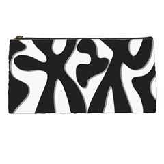 Black and white dance Pencil Cases