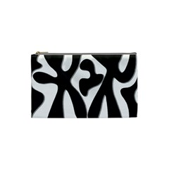 Black and white dance Cosmetic Bag (Small)